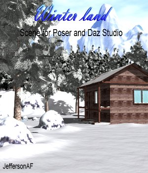 Winter land 3D Models JeffersonAF