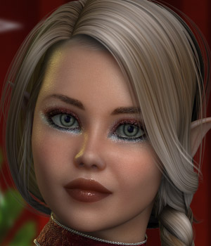 December for Victoria 4 Elite 3D Figure Assets AelarethElennar