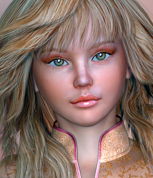Isabelle for Genesis 2 Female (Belle) 3D Figure Assets Virtual_World