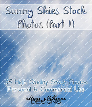Stock Photography: Sunnyy Skies Edition; [Part I] 2D OriginalDoll84