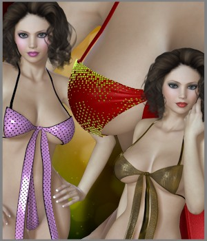 Private Moments: Early Present 3D Figure Essentials 3-DArena