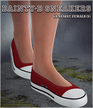 Dainty-B Sneakers G2F 3D Figure Essentials lilflame