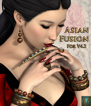 MRL Asian Fusion 3D Figure Essentials Mihrelle