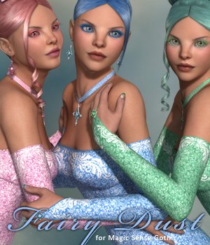 Fairy Dust for Magic Sense Gothic 3D Figure Essentials sandra_bonello