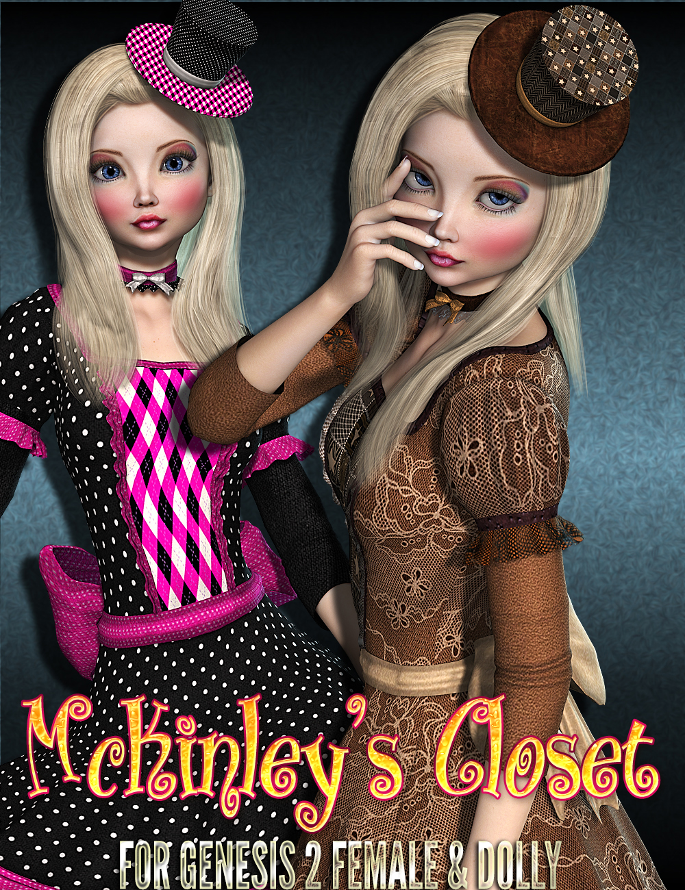 McKinley's Closet Clothing for Genesis 2 And Dolly