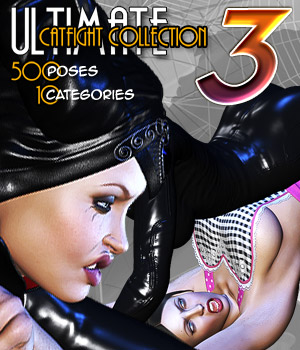 Ultimate Catfight Collection - Part 3 3D Figure Assets Darkworld