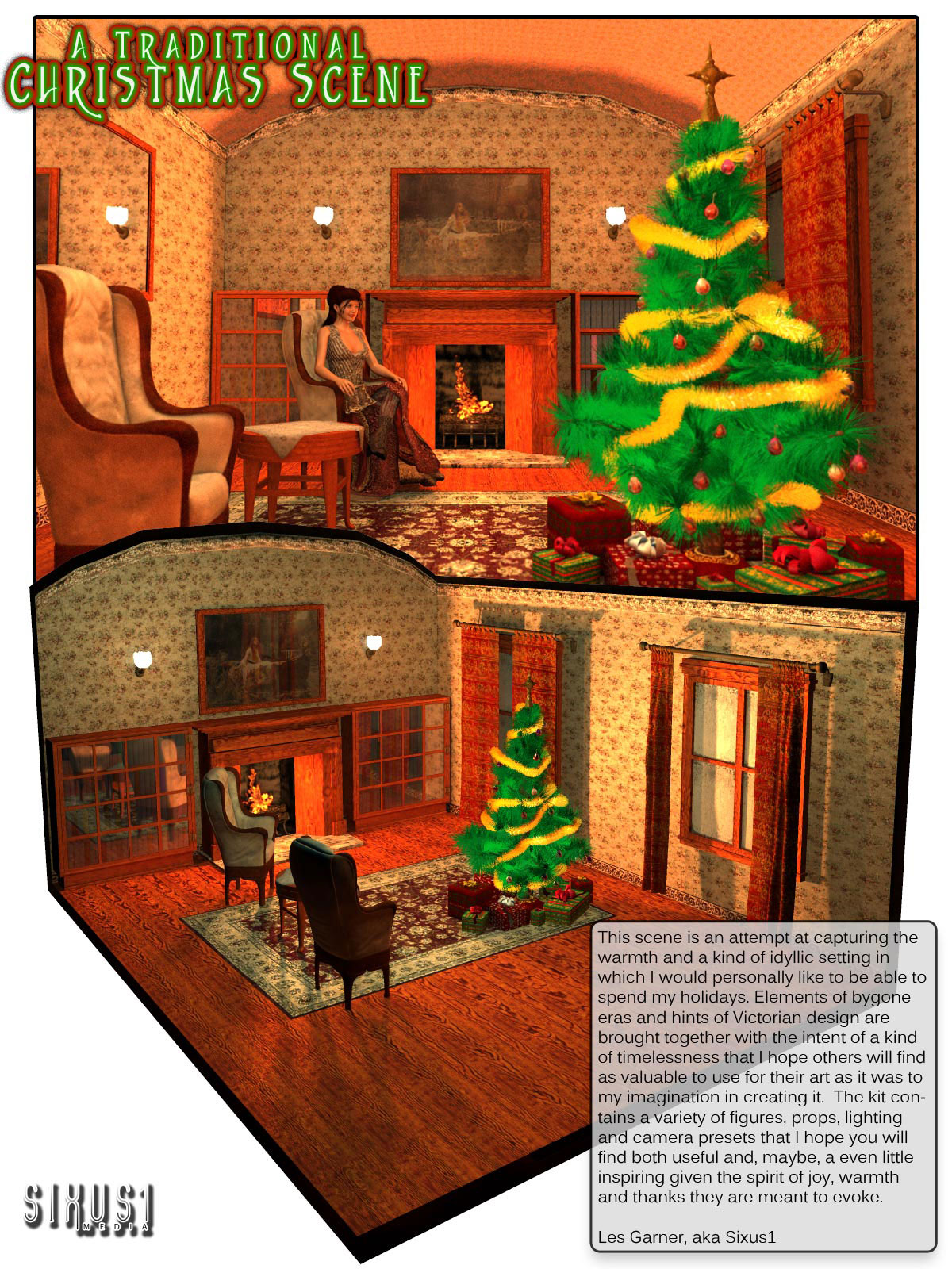 S1M: A Traditional Christmas Scene / Roombysixus1()