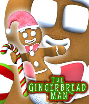 S1M Gingerbread Man 3D Figure Assets 3D Models sixus1