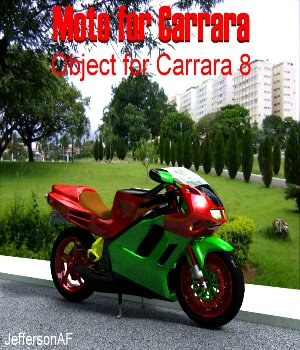 Moto for Carrara 3D Models JeffersonAF