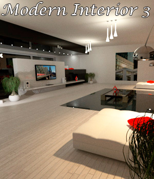 AJ Modern Interior 3 by -AppleJack-