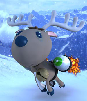 S1M Zippy The Reindeer 3D Models sixus1