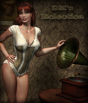 DM's Eclectica 3D Figure Essentials 3D Models Danie