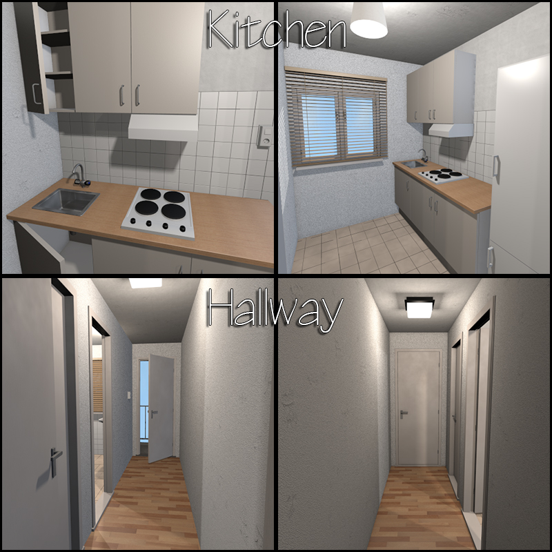 Low Budget Apartments: Low-Budget Apartment 3D Models 2nd_World