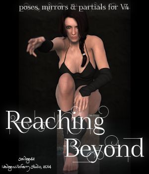 Reaching Beyond Poses 3D Figure Assets Saidge