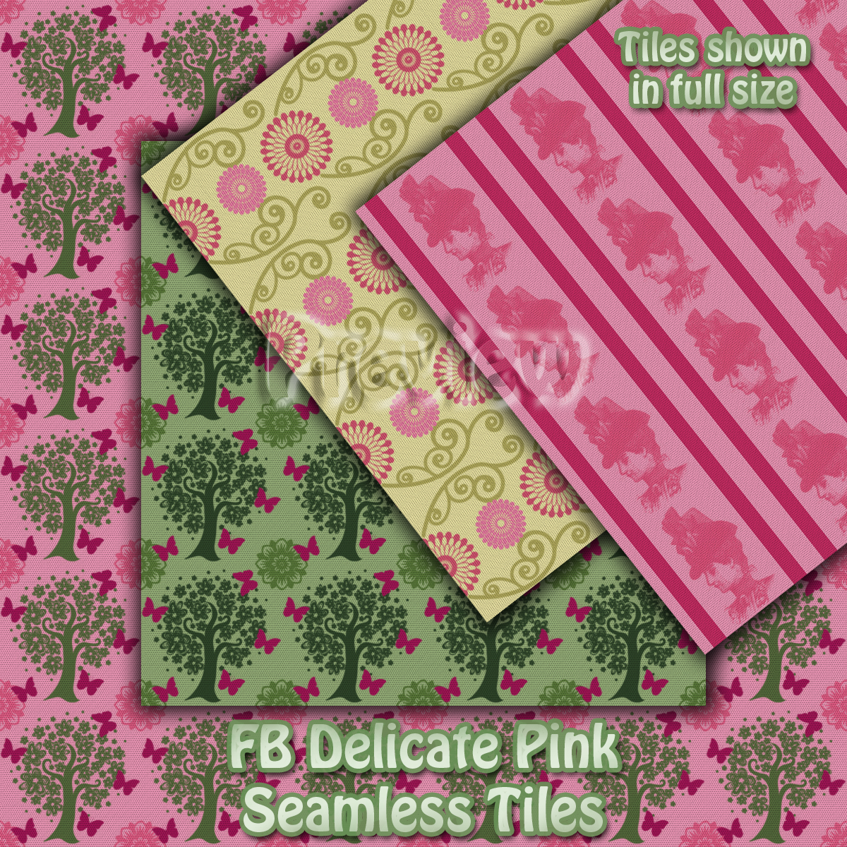 FB Delicate Pink Seamless Tiles / Merchant Resource