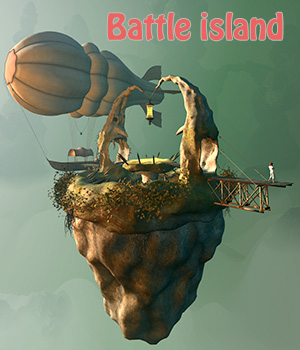 Battle island 3D Models 1971s