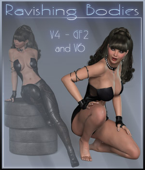 Ravishing Bodies - V4-GF2-V6 3D Figure Essentials ilona