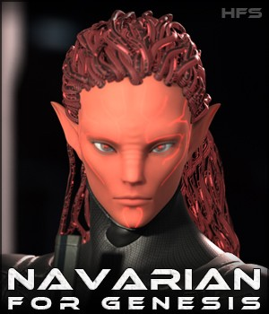 HFS Races: Navarian 3D Figure Essentials DarioFish
