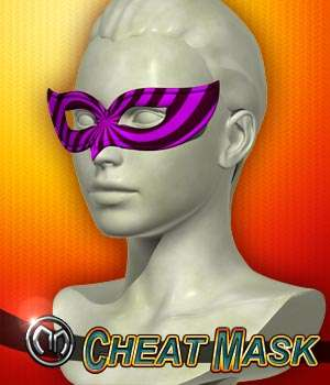 MM Cheat Mask 3D Figure Assets mix_mash