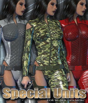 Exnem Special Units for Black Ops Merc V4 3D Figure Assets exnem