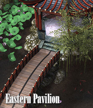 Eastern Pavilion 3D Models ile-avalon