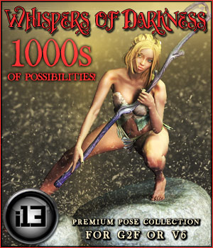 i13 Whispers of Darkness V6/G2F 3D Figure Assets ironman13