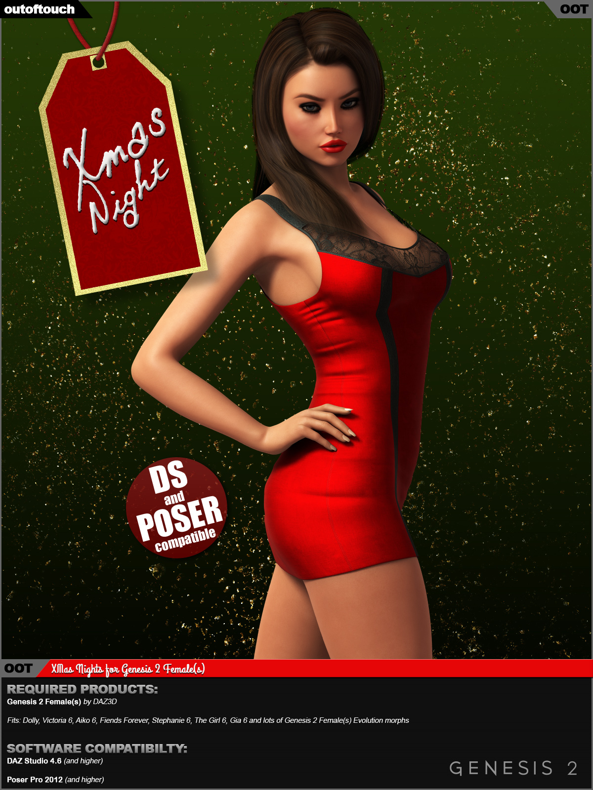 XMas Night for Genesis 2 Female(s)byoutoftouch()