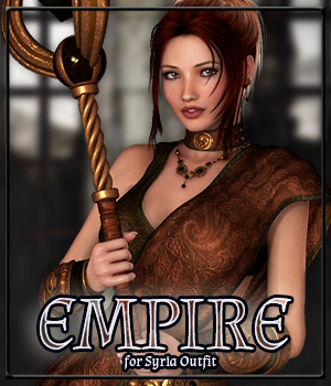 EMPIRE for Syria Outfit 3D Figure Essentials Anagord
