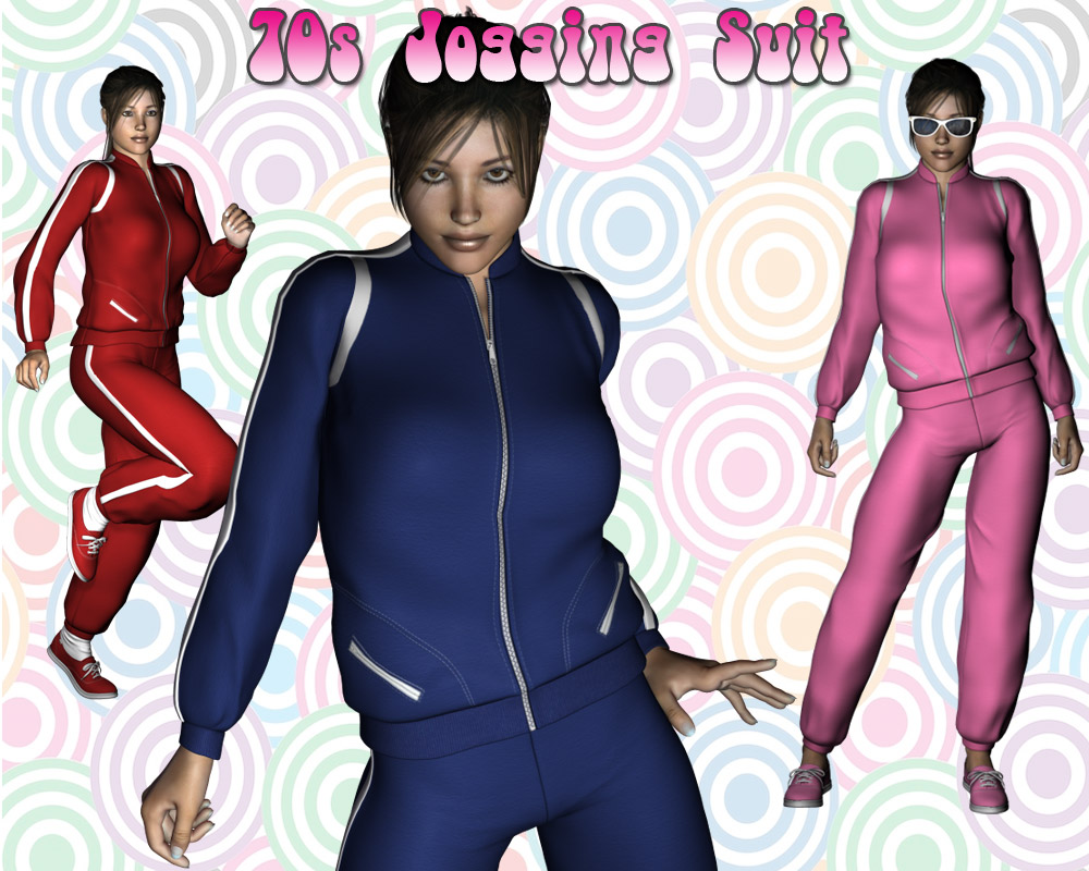 70s Jogging Suit - Extended License