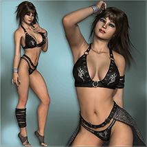 Sexy Fantasy Outfit for V4 image 3