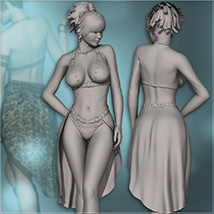 Sexy Fantasy Outfit for V4 image 6