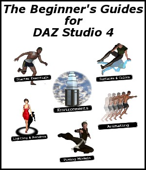 DAZ Studio 4, The Beginner's Guide Collection Tutorials rolow