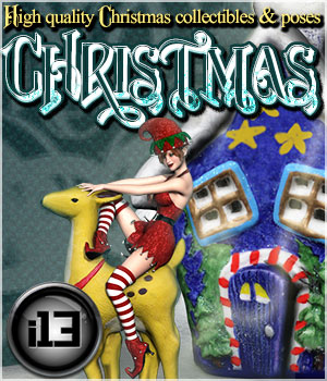 i13 Christmas 3D Figure Essentials 3D Models Software ironman13