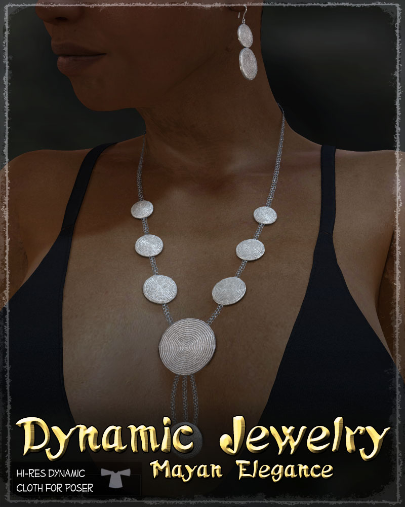 Dynamic Jewelry: Mayan Elegance