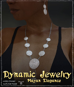 Dynamic Jewelry: Mayan Elegance 3D Figure Essentials Grappo2000