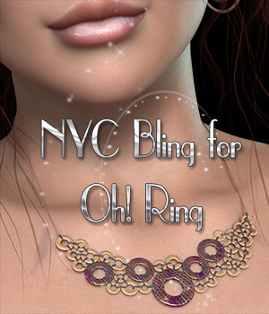 NYC Bling for Oh! Ring 3D Figure Essentials 3DSublimeProductions