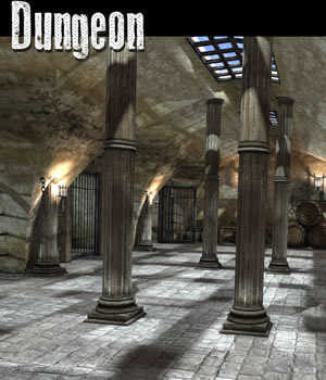 Dungeon 3D Models dexsoft-games