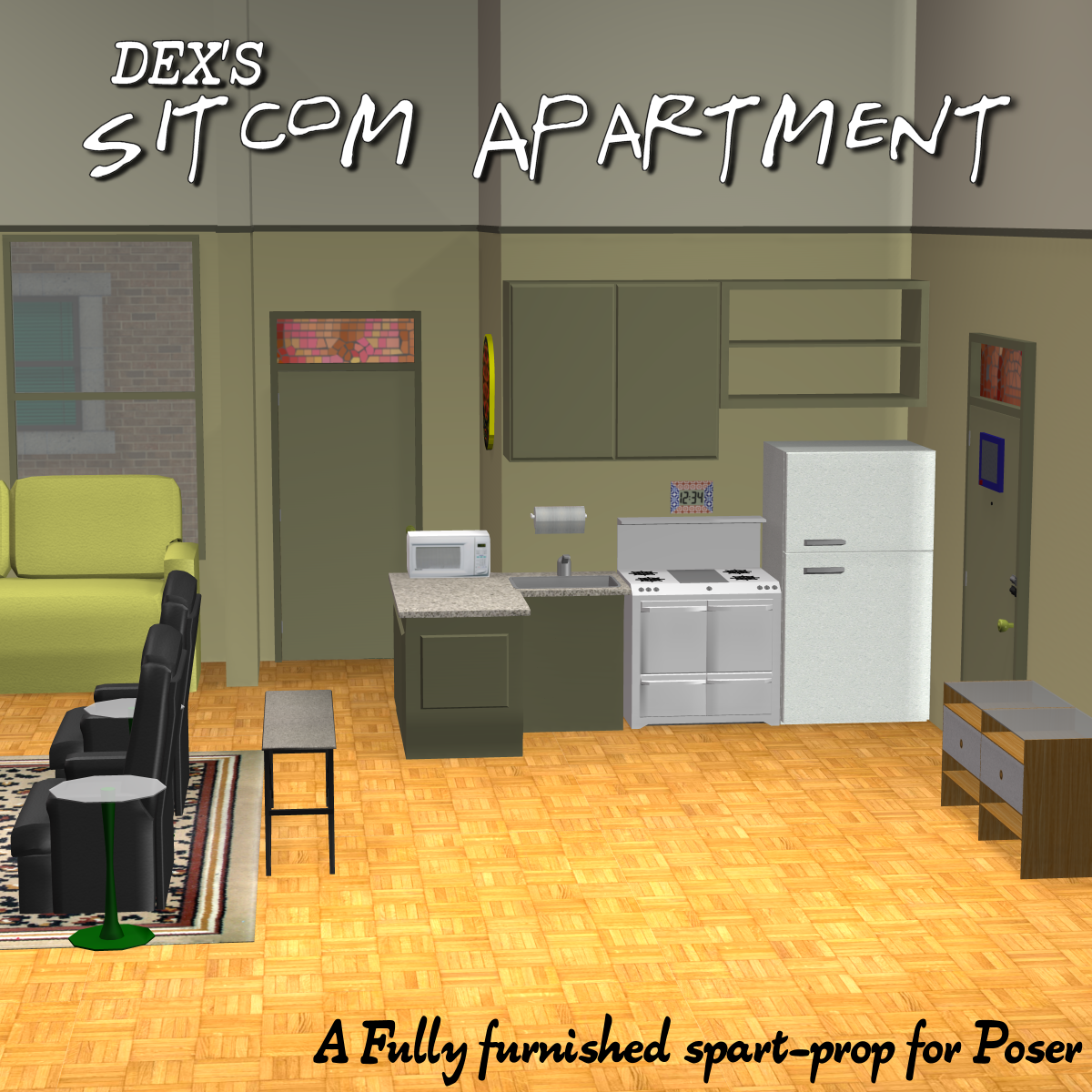 Sitcom Apartment 01