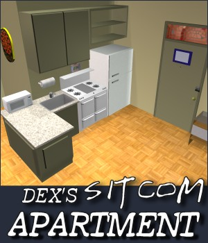 Sitcom Apartment 01 3D Models DexPac