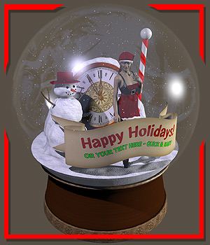 Winter Wonderland_Snow Globe 3D Models coflek-gnorg