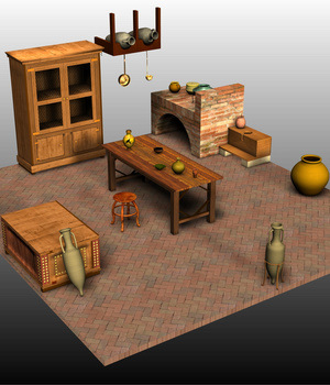 ROMAN BUNDLE1 3D Models Nationale7