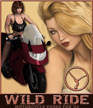 pt WILD RIDE 3D Figure Essentials posetime