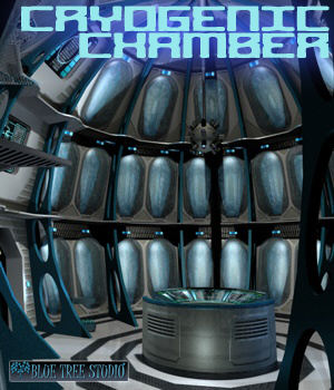 Cryogenic Chamber 3D Models BlueTreeStudio