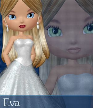 Eva for Cookie 3D Figure Essentials ANG3L_R3D