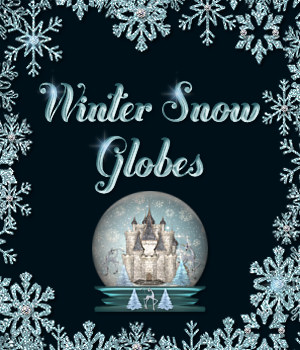 Winter Snow Globes Collection 2D Graphics Merchant Resources fractalartist01