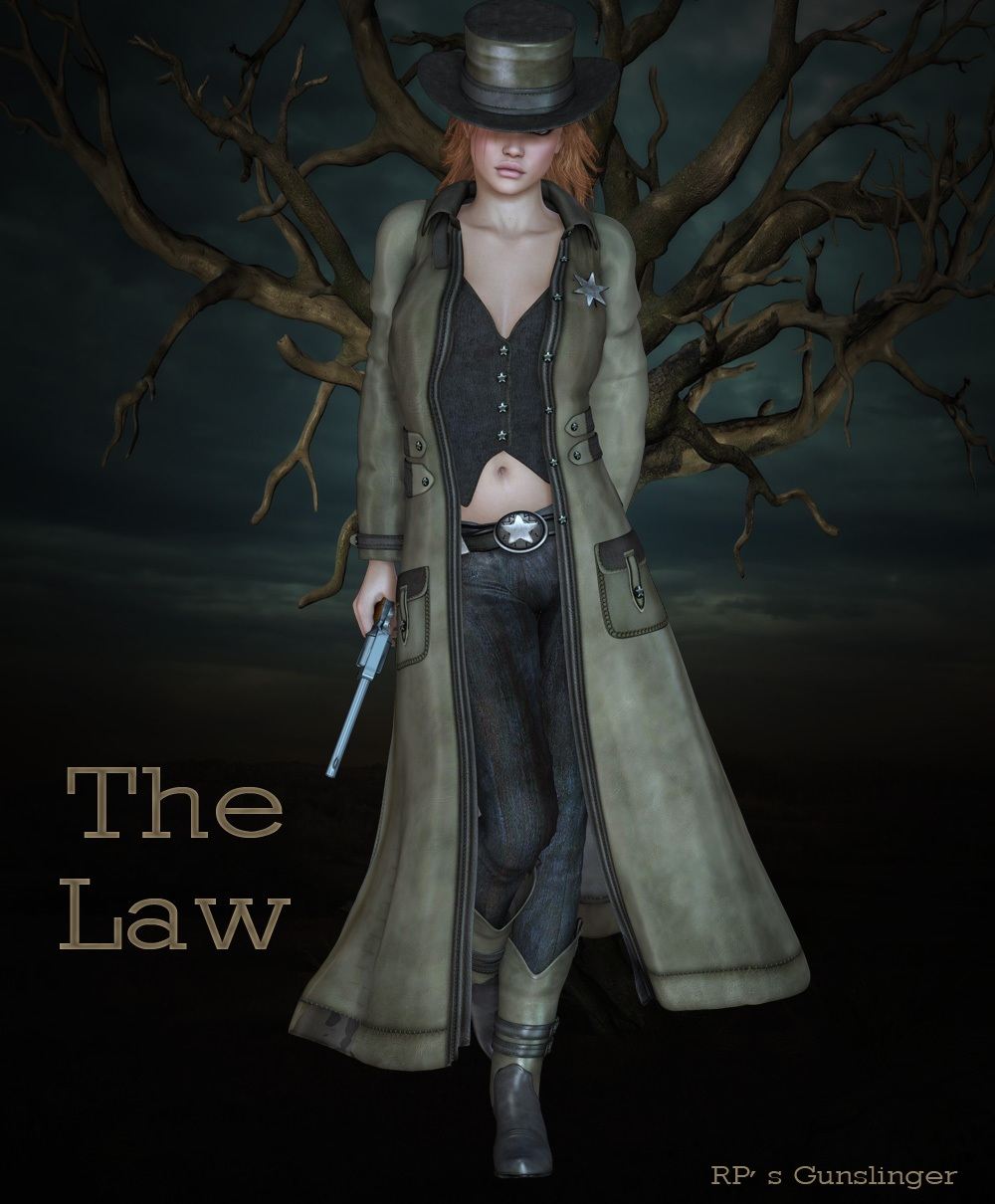 The Law - Gunslinger by nirvy