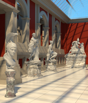 AJ Sculpture Museum by -AppleJack-