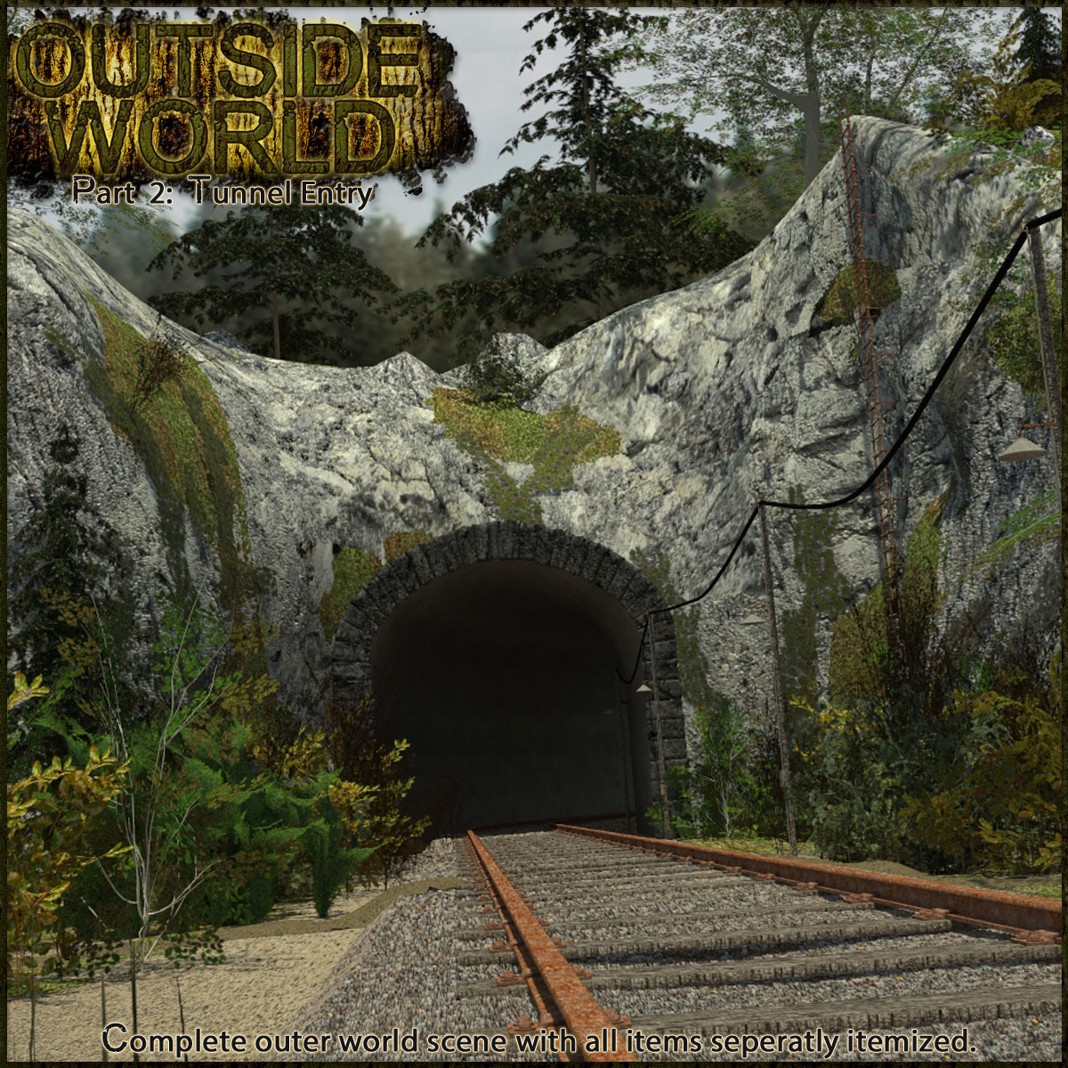 Outside World: Part2 - Tunnel Entry