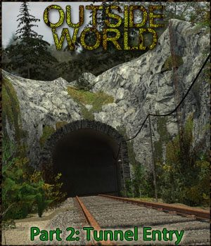 Outside World: Part2 - Tunnel Entry 3D Models 3-d-c
