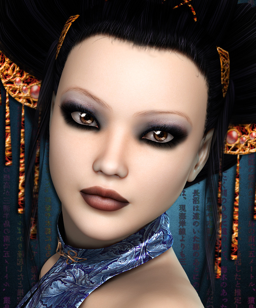 SublimeRebel Jiao for V4 by 3DSublimeProductions